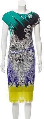Etro Midi Printed Dress