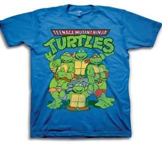 Teenage Mutant Ninja Turtles Toddler Boys' Classic Group Shot Logo Short Sleeve Graphic T-Shirt