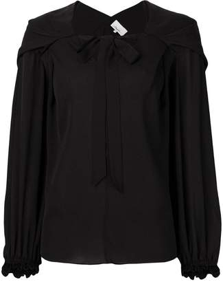 3.1 Phillip Lim draped pussy bow blouse