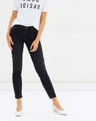 Mng Skinny Tachas Jeans