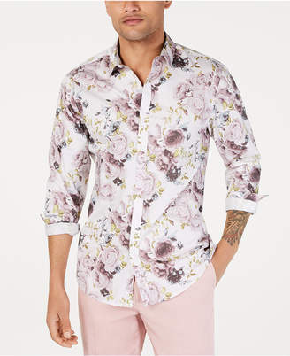 e3711b1090e INC International Concepts I.n.c. Men Floral Print Shirt
