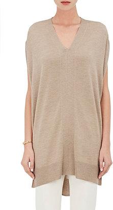 Derek Lam Women's Cashmere-Silk Oversized Tunic-TAN $1,095 thestylecure.com
