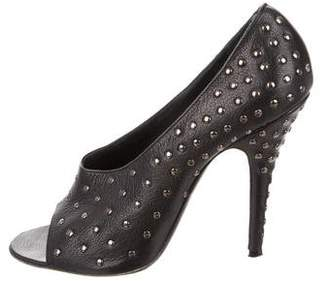 Givenchy Leather Studded Pumps