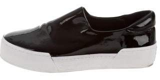 Opening Ceremony Round-Toe Slip-On Sneakers