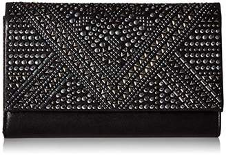 Jessica McClintock Nora Large Flap Studded Evening Clutch
