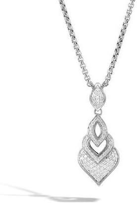 John Hardy Legends Naga Diamond Pendant Necklace