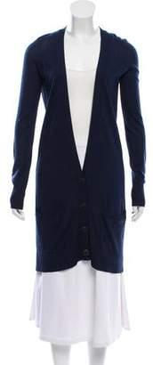 Diane von Furstenberg Silk Button-Up Cardigan