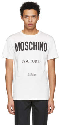 Moschino Off-White Couture Logo T-Shirt
