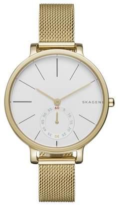 Skagen 'Hagen' Mesh Strap Watch, 34mm