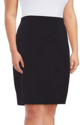 Vince Camuto Plus Pull-On Stretch Pencil Skirt