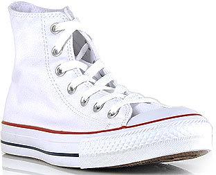 Converse Chuck Taylor Lace - White Canvas Hi Top Sneaker