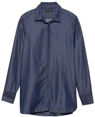 Banana Republic Parker Tunic-Fit TENCELTM Shirt
