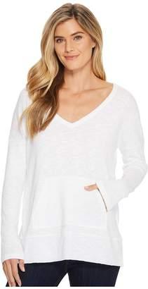 Lilla P Long Sleeve Easy V-Neck Women's Clothing