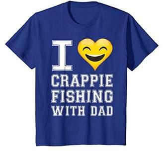 Crappie Fishing Shirt for Boys - Son Fishing Shirt
