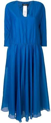 Max Mara 'S flared v-neck dress
