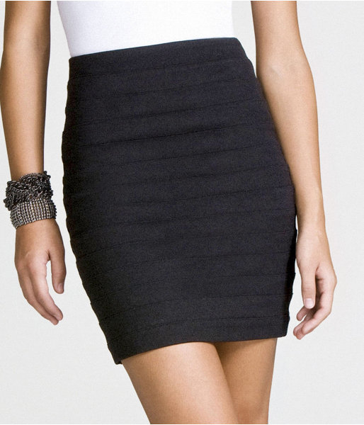 High-Waist Bandage Skirt