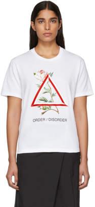 Undercover White Order/Disorder T-Shirt
