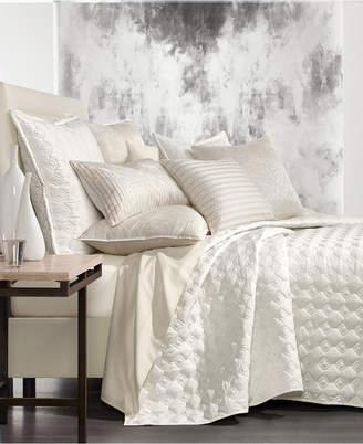 Hotel Collection Alabaster King Quilted Coverlet