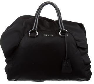 pradaPrada Tessuto Ruffled Bag