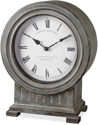 Uttermost Chouteau Mantel Clock