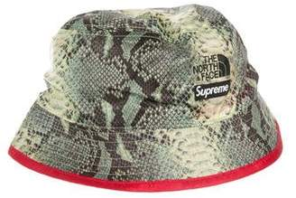 The North Face x Supreme 2018 Printed Crusher Hat w/ Tags