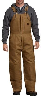Dickies Men's Rigid Insulated Duck Bib Overall