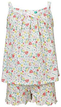 John Lewis Children's Spring Bloom Short Pyjamas, Multi