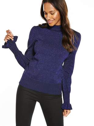Mica Y.A.S Knit Pullover - Navy