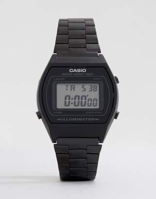 Casio B640WB-1AEF digital stainless steel watch in black