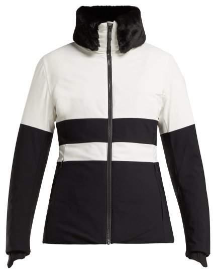 Fusalp - Levanne Striped Ski Jacket - Womens - White