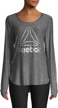 Reebok Legend Long-Sleeve Logo Tee