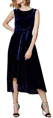 Karen Millen Velvet Belted Dress