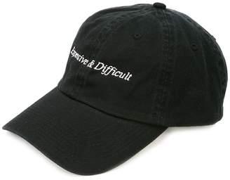 Nasaseasons embroidered slogan cap