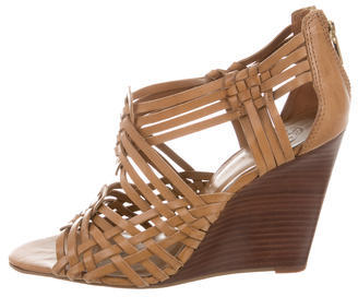 Tory BurchTory Burch Leather Multistrap Wedges