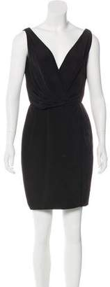 Tom Ford Silk Surplice Neck Dress