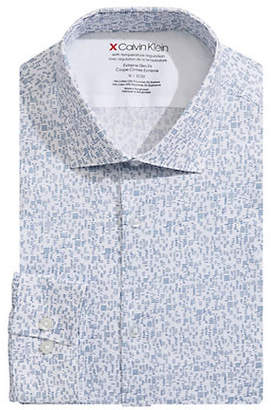 Calvin Klein Extreme Slim Fit Stretch Dress Shirt