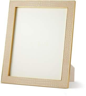 "AERIN Classic Croc Leather Photo Frame (8""x 10"")"