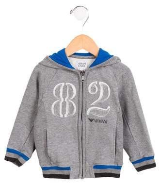 Armani Junior Boys' Hooded Sweatshirt