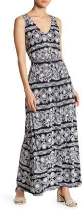 Joe Fresh Smocked Waist Maxi Dress