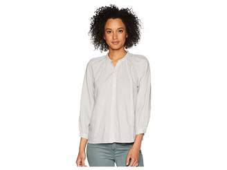 Lucky Brand Stripe Poet Blouse