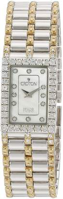 Croton Watches Women's CN207536TTMP Analog Display Quartz Two Tone Watch