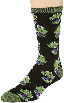 Nickelodeon Novelty Socks 1 Pair Crew Socks-Mens