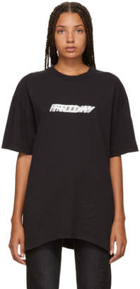 Vetements Black Friday Weekday T-Shirt