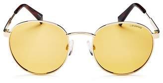 Polaroid Women's Polarized Round Sunglasses, 51mm