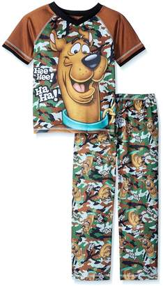 Scooby-Doo Scobby Doo Boys Camo Pajama Set , Toddler