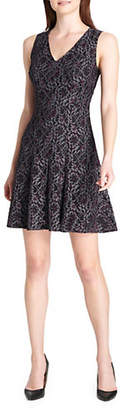 Tommy Hilfiger Garden Lace Fit--Flare Dress