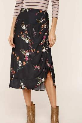 Heartloom Rouched Floral Skirt