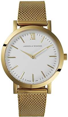 Larsson & Jennings Lugano Womens Quartz Watch, Analogue Classic Display and Stainless Steel Strap