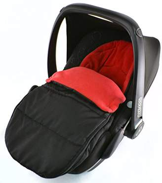 Stokke Car Seat Footmuff/Cosy Toes Compatible with New born Car seat Fire Red