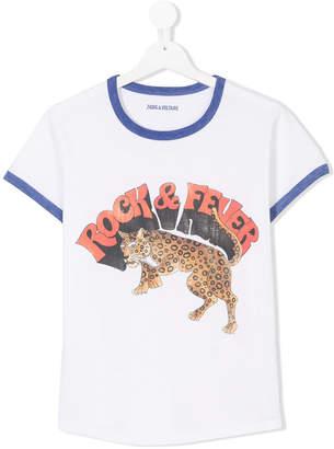 Zadig & Voltaire Kids TEEN rock & fever T-shirt